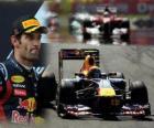 Mark Webber - Red Bull - Istanbul, Turchia Grand Prix (2011) (2 ° posto)