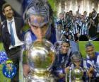 FC Porto, il portoghese Liga 2.010-11 celebrazione campionato