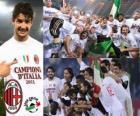 AC Milan, campione italiano di calcio Serie A 2.010-11