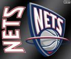 Logo New Jersey Nets, squadra NBA. Atlantic Division, Eastern Conference