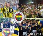 Fenerbahçe SK, campione del campionato di calcio turco, Super Lig 2010-2011