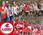 LOSC Lille, campione del campionato di calcio francese, Ligue 1 2010-2011