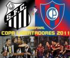 Santos FC - Cerro Porteño. Copa Libertadores 2011 Semifinale