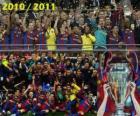 FC Barcelona, campione della UEFA Champions League 2010-2011