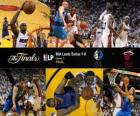 NBA Finals 2011, Match 1 °, Dallas Mavericks 84 - Miami Heat 92