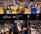 NBA Finals 2011, gara 2, Dallas Mavericks 95 - Miami Heat 93