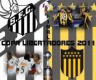 FC Santos - Montevideo Peñarol. Finale Copa Libertadores 2011