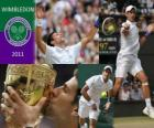 Novak Djokovic campione di Wimbledon 2011