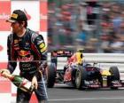 Mark Webber - Red Bull - Silverstone, Gran Premio di Gran Bretagna (2011) (3 ° posto)
