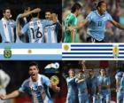 Argentina - Uruguay, quarti di finale, Argentina 2011