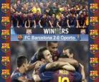 FC Barcelona Campione 2011 Supercoppa UEFA