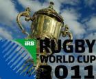 Coppa del Mondo di Rugby 2011. E celebre in Nuova Zelanda dal 9 Settembre - 23 Ottobre