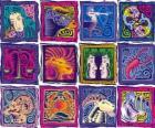 I dodici segni dello zodiaco