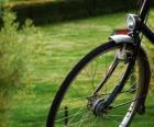 Ruota anteriore di una bicicletta