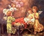 Diversi gli angeli con bambino Gesù