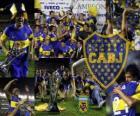 Boca Juniors, campione dil torneo Apertura 2011 in Argentina