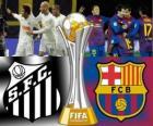 Santos FC - FC Barcelona. Finale de Coppa del mondo per club FIFA Giappone 2011