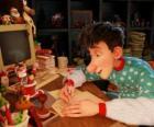 Arthur Christmas, responsabile per rispondere alle lettere dai bambini di tutto il mondo
