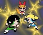 Le Superchicche volare tra le stelle grazie ai loro super poteri