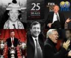 Distinzione presidenziale di FIFA 2011 per Alex Ferguson