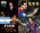 Lionel Messi, Golden Ball FIFA 2011