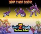 Dark Tiger Shark, ultima evoluzione. Invizimals Le Tribù Scomparse. Il lato oscuro dil signore degli Invizimals non è una creatura del male