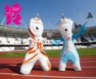 Le mascotte dei giochi olimpici e paralimpici di Londra 2012 sono Wenlock e Mandeville