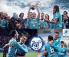 FC Zenit St. Petersburg, campione del campionato di calcio russo, Prima Lega 2011-2012