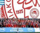 Olympiacos Pireo, campione Super League 2011-2012, campionato di calcio greco