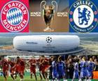 Bayern Monaco vs Chelsea FC. Finale UEFA Champions League 2011-2012. Allianz Arena, Monaco, Germania