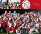 Ajax Amsterdam, campione Eredivisie 2011-2012, campionato di calcio olandese