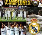 Real Madrid campione del campionato spagnolo di calcio 2011-2012