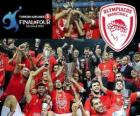 Olympiacos Pireo, campione di Euroleague Basketball 2012