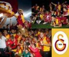 Galatasaray, campione Super Lig 2011-2012, campionato di calcio de Turchia