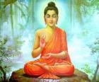 Disegno del Gautama Buddha