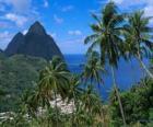 I Pitons, isola di Santa Lucia