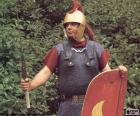 Un soldato romano