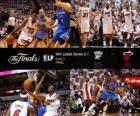 NBA Finals 2012, 3 ° gioco, Oklahoma City Thunder 85 - Miami Heat 91
