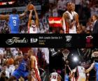 NBA Finals 2012, 4 ° gioco, Oklahoma City Thunder 98 - Miami Heat 104