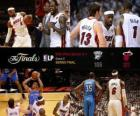 NBA Finals 2012, 5 partito th, Oklahoma City Thunder 106 - Miami Heat 121