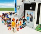Negozio Apple Playmobil