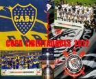 Boca Juniors vs Corinthians. Finale Copa Libertadores 2012