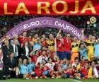 Spagna, campione UEFA EURO 2012