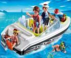 Playmobil Motoscafo