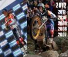 Toni Bou campione del mondo trial 2012