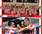 Atlético de Madrid campione Super Coppa UEFA 2012