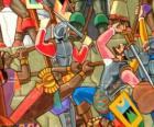 Guerrieri Inca di combattimento
