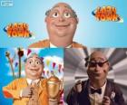 Sindaco Milford Meanswell. Meanswell Milford è il sindaco di Lazy Town