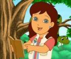 Alicia, la sorella maggiore di Diego