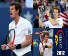 Andy Murray campione U. S. Open 2012